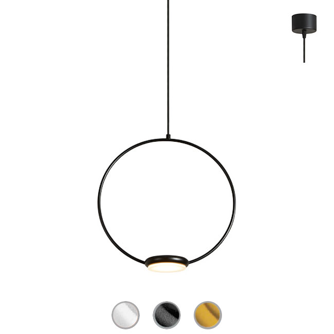 Gibas Lampe à Suspension Odigiotto LED 8W H 243 cm