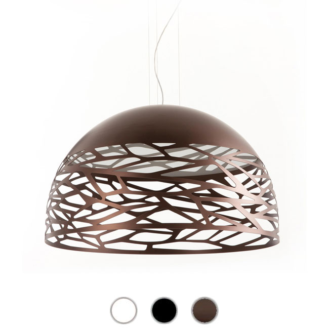 Studio Italia Design Lampe à suspension Kelly Large 4 lumières E27 Ø 80 cm