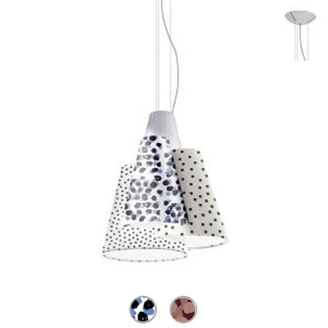 Axo Light lampe à suspension Melting pot 60 1 luce 27 L 48 cm