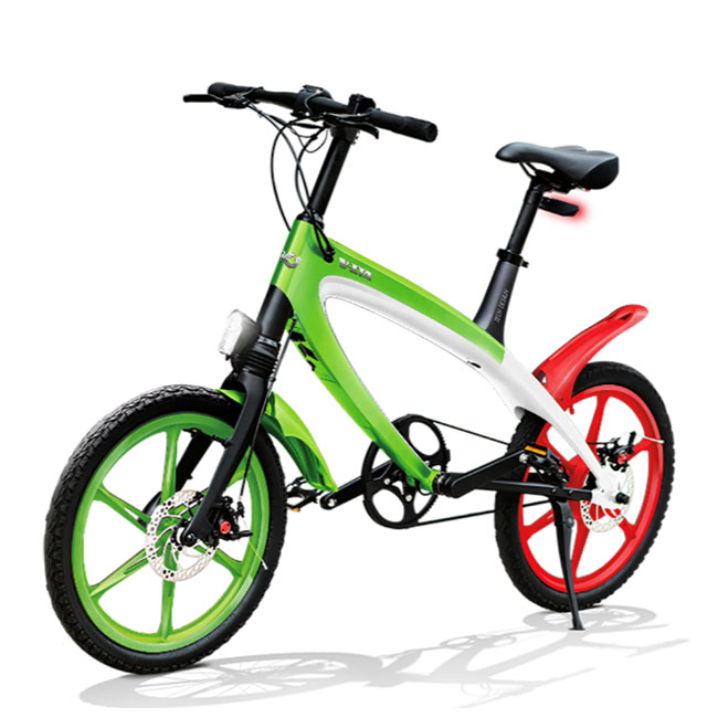 E-City Bike V-ITA Iconic Italy Masterpieces Full avec la technologie Bluetooth