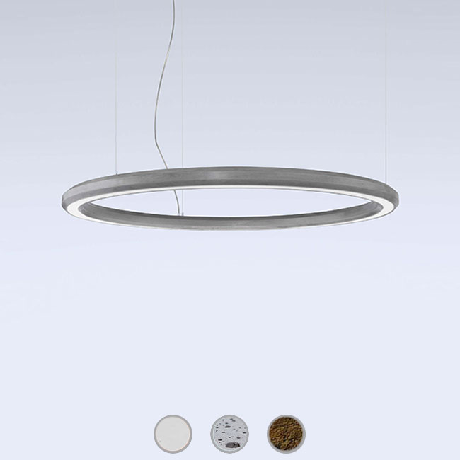Marchetti lampe à suspension Materica Circle dw LED 68W Ø 90 cm