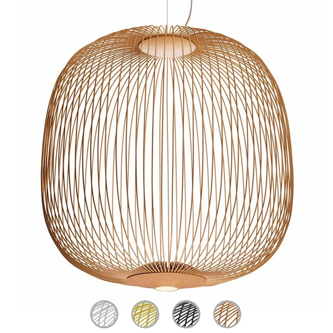 Foscarini lampe à suspension Spokes 2 large MyLight LED 30W Ø 70 cm dimmable