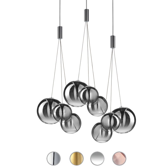 Studio Italia Design Lampe à suspension Random LED 12W L 29 cm