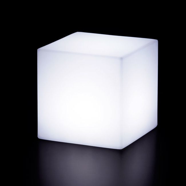 Lampe avec batterie rechargeable Slide Cubo25 LED RGB 3W L 25 cm IP55