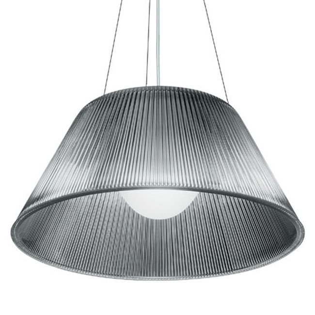 Flos Lampe à Suspension Romeo Moon S2 Ø 50 cm 1 Lumiére E27