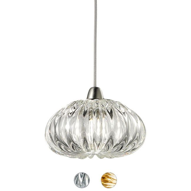 Vistosi Diamante  Lampe à suspension Ø 14 cm 1Lumiére G9 différént couleurs