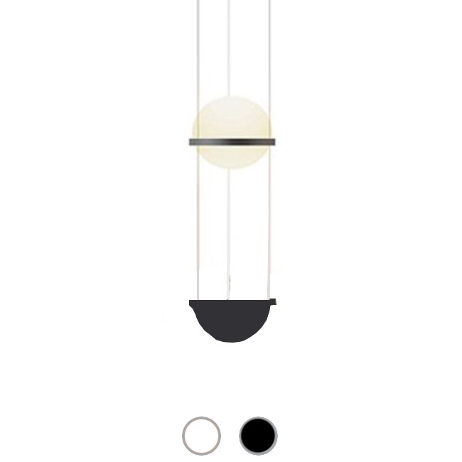 Vibia Suspension Palma LED 9.2W Ø 22 cm dimmable