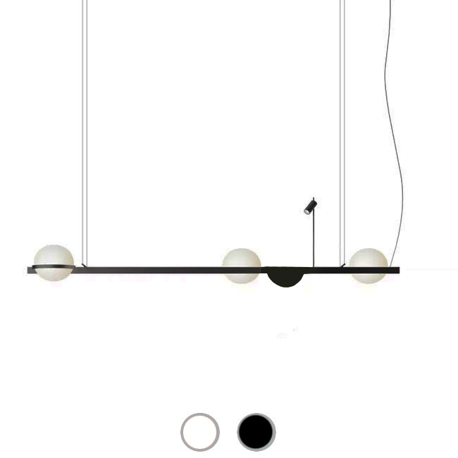 Vibia Suspension Palma LED 2W+27.6W L 195 cm dimmable