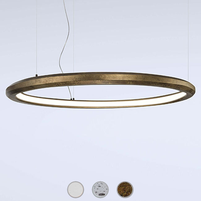 Marchetti lampe à suspension Materica Circle in LED 54W Ø 120 cm