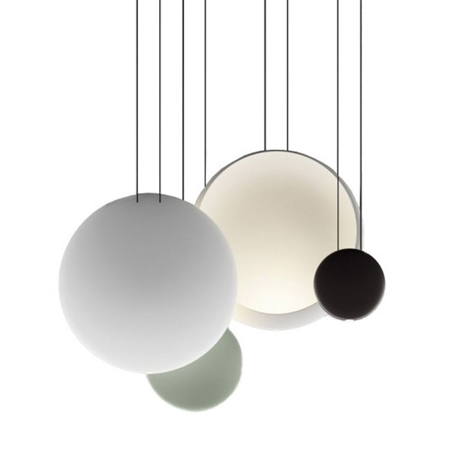 Vibia lampe à suspension Cosmos LED 18W+2W L 86 cm dimmable