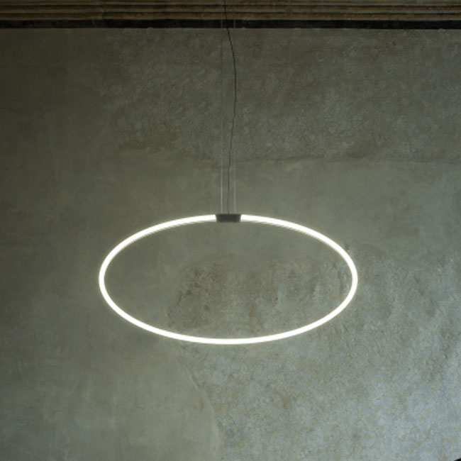 Antonangeli lampe à suspension Archetto Shaped-C2 LED 50W L 80 cm
