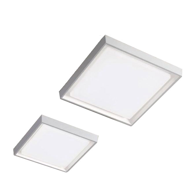 Ai Lati Lights Applique / Plafoniera Alu LED IP54 Anche per Esterno quadrata