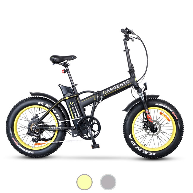 E-Bike pliant Argento Mini Max