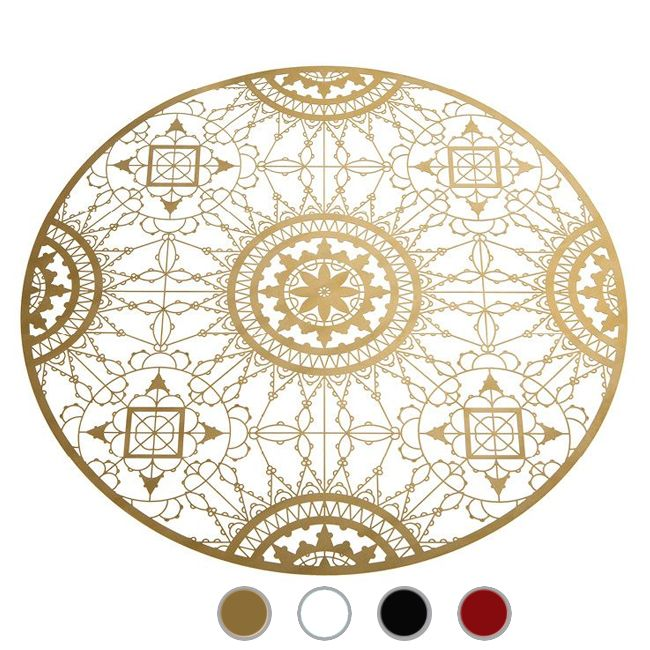 Driade Italic Lace Set de table rond Ø 34 cm