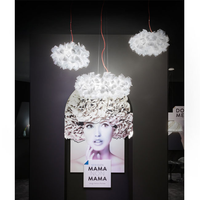 Slamp lampe à suspension Clizia Mama non Mama E27