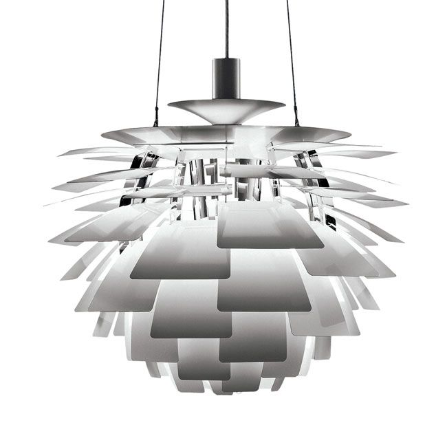 Louis Poulsen Lampe à suspension PH Artichoke 1 lumière E27 Ø 60 cm