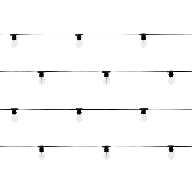 Seletti OUTDOOR Lumières décoratives Bella Vista Clear LED 5W L 1420 cm