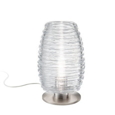 Vistosi Damasco lampe de table cm20x28 1Lumiére E27 différént couleurs Dimmable