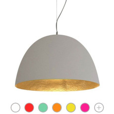 In-es Art Design Lampe à suspension H2O CEMENTO 1 Lumière E27 Ø 46 cm