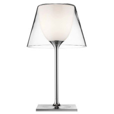 Flos Lampe de table KTribe T1 Glass 1 Lumiére E27 H 56 cm