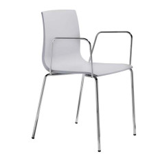 Scab chaises avec accoudoirs Alice, empilable