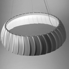 Egoluce suspension Megavide LED 33W Ø 90 cm
