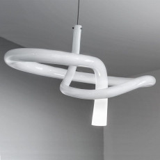 Vistosi  Lampe à suspension Nodo 1 Lumière 48W Ø 40 cm