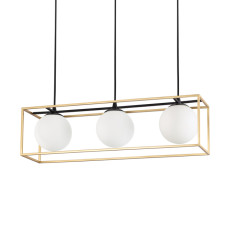 Ideal Lux Lampe à Suspension Lingotto 3 Lumières E14 L 70cm