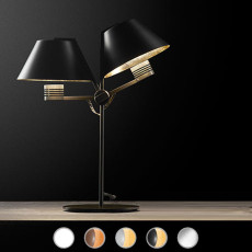Antonangeli lampe de table Cinemà-T2 LED 26W H 55 cm