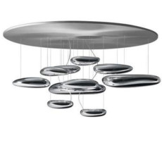 Artemide Mercury Plafonnier LED Ø110 2 Ampoules LED Dimmerable