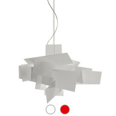 Foscarini Lampe à suspension Big Bang 1 lumière R7s L 96 cm