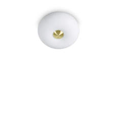 Ideal Lux Plafond / Applique Arizona 2 Lumières GX53 Ø 30cm