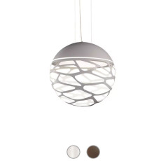 Studio Italia Design Lampe à suspension Kelly Sphere 3 lumières E27 Ø 40 cm