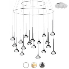 Axo Light Lampe à suspension Fairy LED 18 Luci 6,8W Ø 60 cm