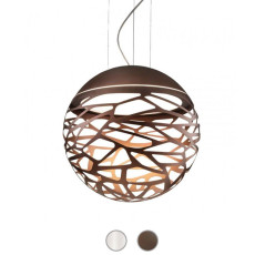 Studio Italia Design Lampe à suspension Kelly Sphere 3 lumières E27 Ø 50 cm