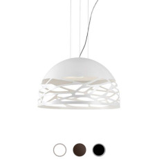 Studio Italia Design Lampe à suspension Kelly Small 3 lumières E27 Ø 50 cm