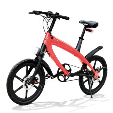 Vélo E-City V-ITA Evolution Solid avec la technologie Bluetooth-Coral