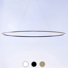 Nemo lampe à suspension Ellisse Pendant Mega LED 85W L 186 cm dimmable