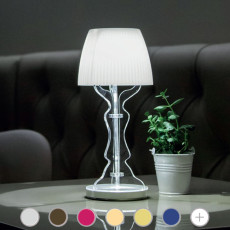 Lampe de table rechargeable Vesta Design Lady Piccola LED 1W H 33 cm