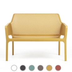 Nardi banc Net Bench L 116 cm empilable Outdoor