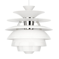 Louis Poulsen Lampe à suspension PH Snowball 1 lumière E27 Ø 40 cm