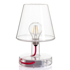 Lampe à poser rechargeable Fatboy Transloetje LED 2 W H 25.5 cm Dimmable transparent