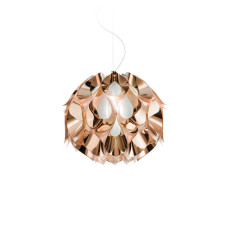 Slamp Flora Suspension Small L36 42W cm FLUO-Cuivre