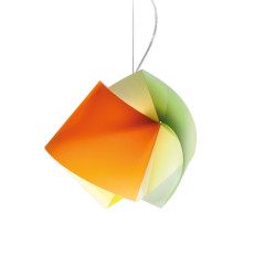 Slamp suspension Gemmy Multicolor 1 lumière E27 L 42 cm