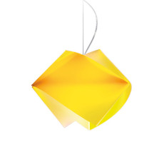 Slamp suspension Gemmy Yellow 1 lumière E27 L 42 cm