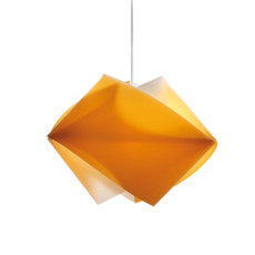 Slamp suspension Gemmy Orange 1 lumière E27 L 42 cm