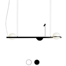 Vibia Suspension Palma LED 2W+18.4W L 150 cm dimmable