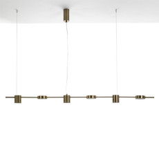 Tomasucci Domino Suspension LED 42W L 160 cm