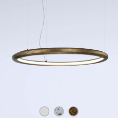 Marchetti lampe à suspension Materica Circle in LED 40W Ø 90 cm