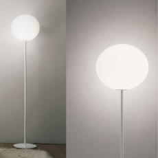 Rotaliana lampadaire Flow Glass 1 luce E27